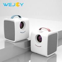 Wejoy LCD Projector W S1 Children's Proyector for Christmas Gift LED Pocket Projector Mini Video 320x240P Projector Media Player