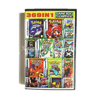 Nintendo Game Boy Advance 369 In 1 Video Game Cartridge Console Card Compilations Collection English Language