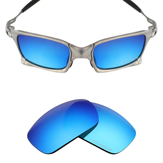 2b8b989bf36 Mryok+ POLARIZED Resist SeaWater Replacement Lenses for Oakley X Squared  X-Metal Sunglasses Ice Blue