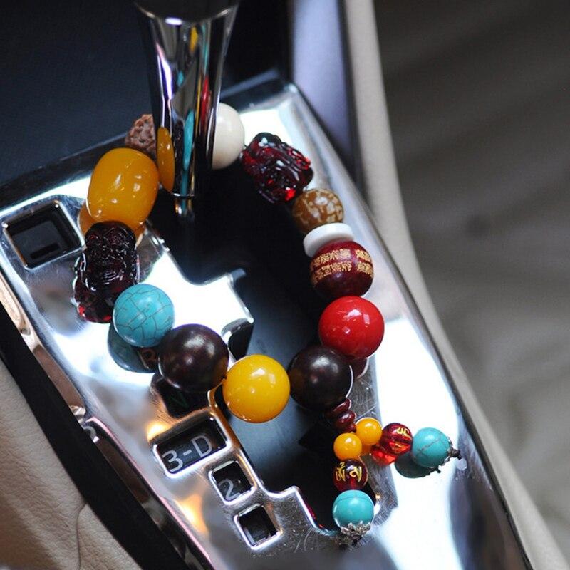 1pcs Car Natural Bodhi bead pendant Ornament jewelry Buddha Hanging ornament Dec
