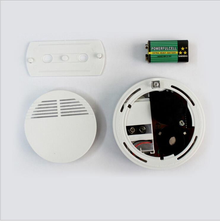 Smoke detector fire alarm detector Independent smoke alarm sensor for home office Security photoelectric smoke alarm in Gas Analyzers from Tools