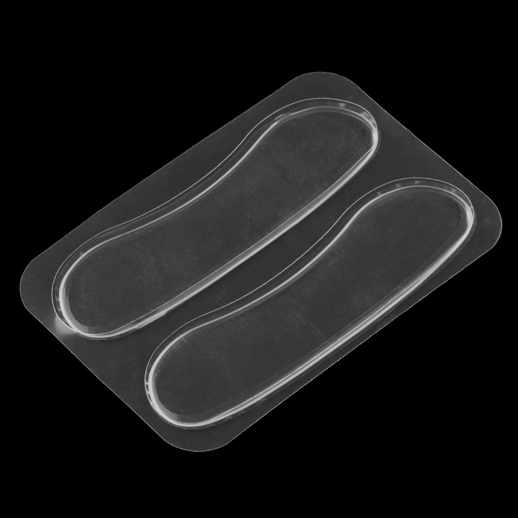 1Pair Silicone Gel Heel Cushion protector Foot feet Care Shoe Insert Pad Insole Hot Sale Foot Care Tool