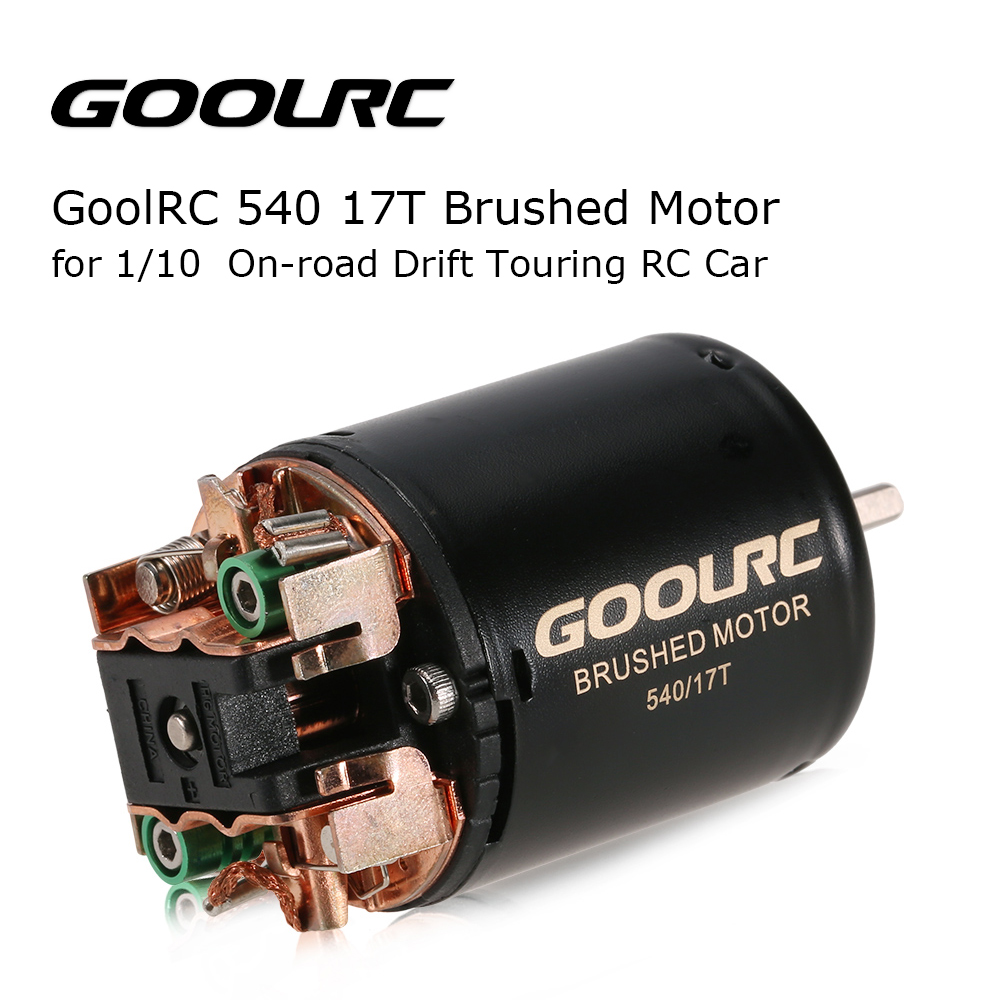 GOOLRC 540 17T Brushed Motor for 1/10 On-road Drift Touring RC Car baldinini de nuit