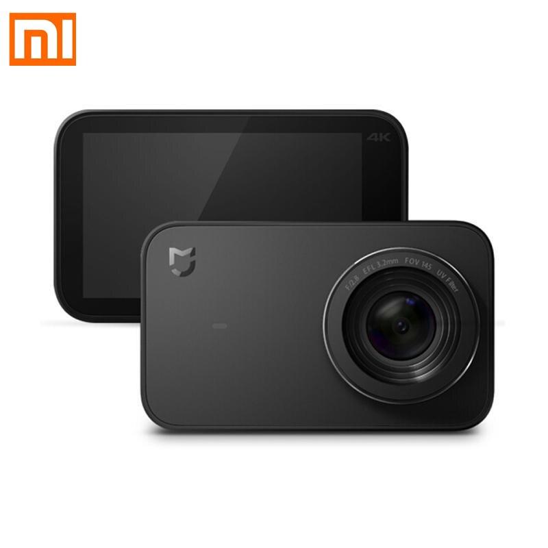 Hilfreich Original Mijia Mi Internationalen Version Action Kamera 4 K/30fps Wifi Unterwasser Wasserdichte Cam Aufnahme Sport Video Kamera Novel In Design;