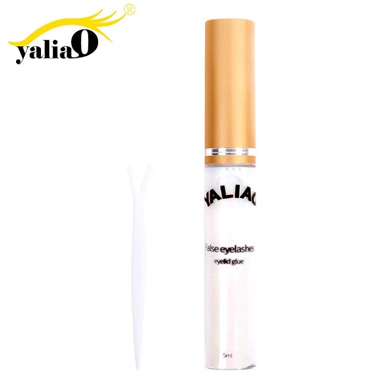 YALIAO Invisibilidade Cola Chicote Eyelash Adhesive Cola para cílios À Prova D' Água Acessórios Cílios falsos Pálpebra Cola Ferramentas de Maquiagem