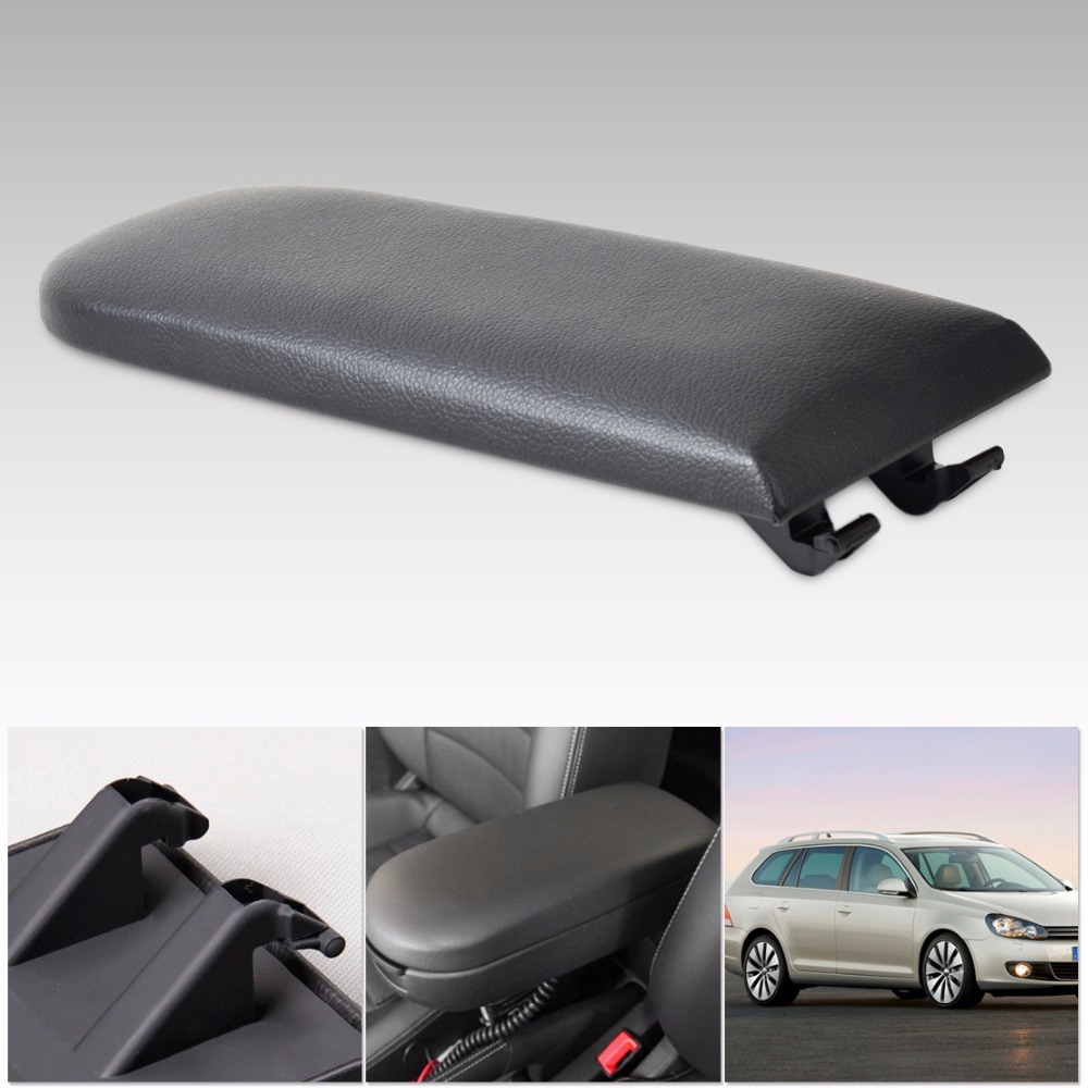 Dwcx New Black Leather Center Console Armrest Cover Lid For Vw Beetle Bora Golf 4 Pat B5 Skoda Octavia 1997 2010 2017 In Tank Covers From Automobiles