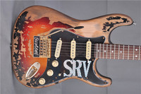 Vicers electric guitar free delivery of SRV retro cultural relic holy actual shooting pictures,