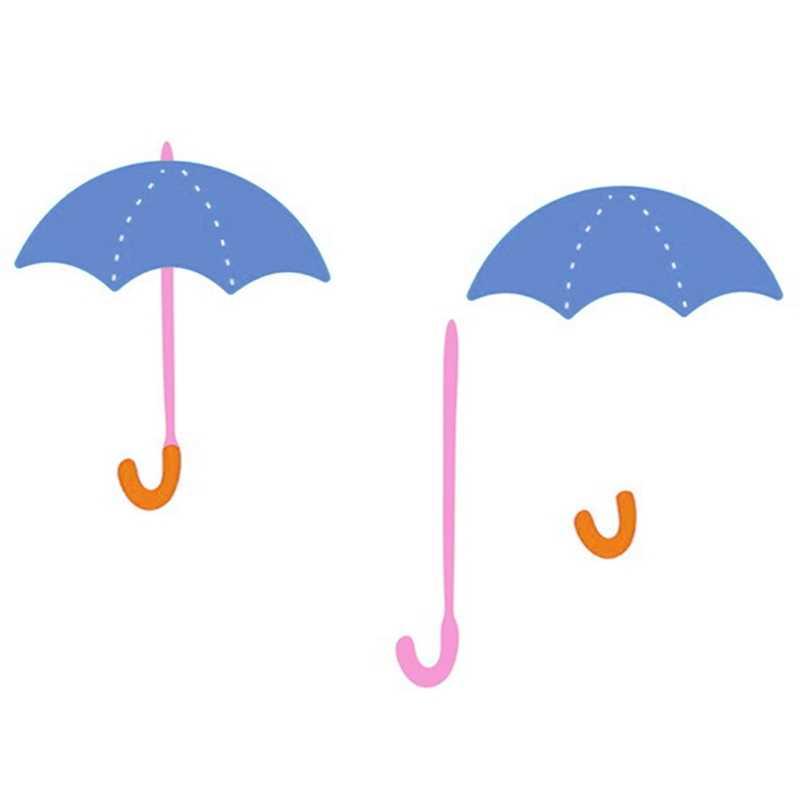 Металлические режущие штампы построить зонтик вырезать бумага для скрапбукинга ремесло чеканочный нож лекало, лезвие удар трафарет