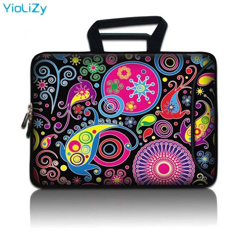 Homens maleta do portátil 10.1 11.6 12.1 13.3 14.1 15.6 17.3 polegada computador portátil caso bolsa de mulher ultrabook capa SBP-3106