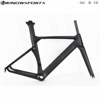 2018 Aero New Design Carbon frame Direct Brake T800 lighter bicycle frameset Carbon Racing Bicycle Frame Road Frame