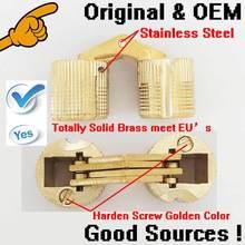 1000pcs/lot stock wholesale D16mm box barrel brass hinge round gold copper box hinge