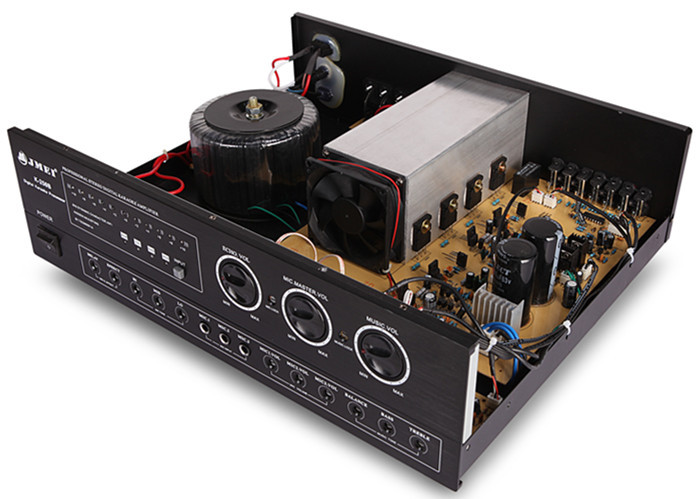 K 250A 3U Cabinet 2 Channel KTV Power Amp 250W Professional ...