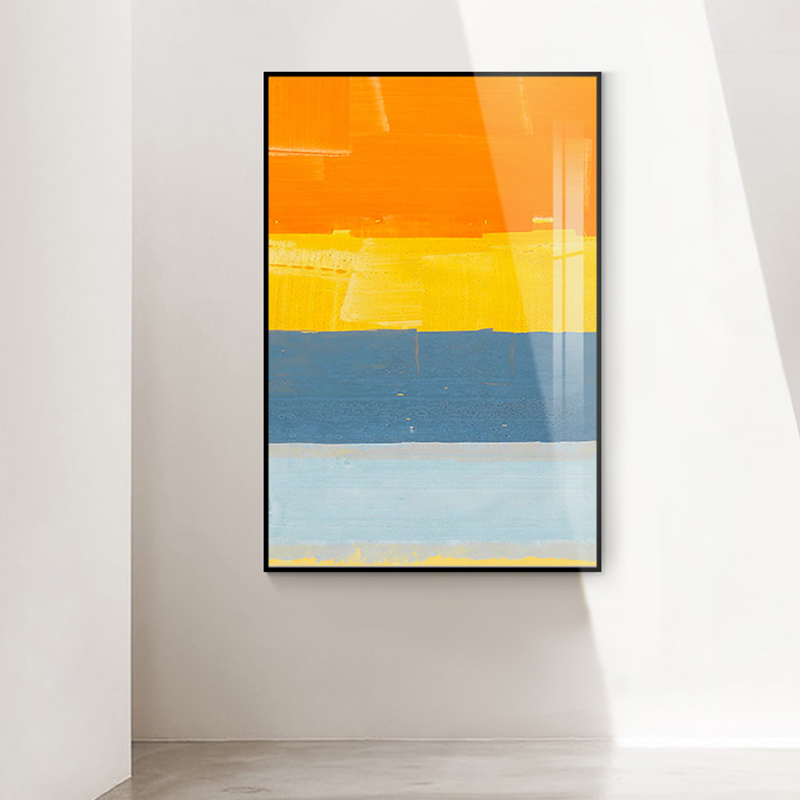 Abstract colorful Canvas Painting Posters And Prints unique Mark Rothko Painting wall art Deco For Living Room Bedroom Aisle in Painting Calligraphy from Home Garden