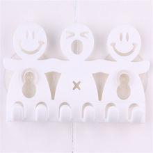 Держатель для зубной щетки 5 позиций с присосками