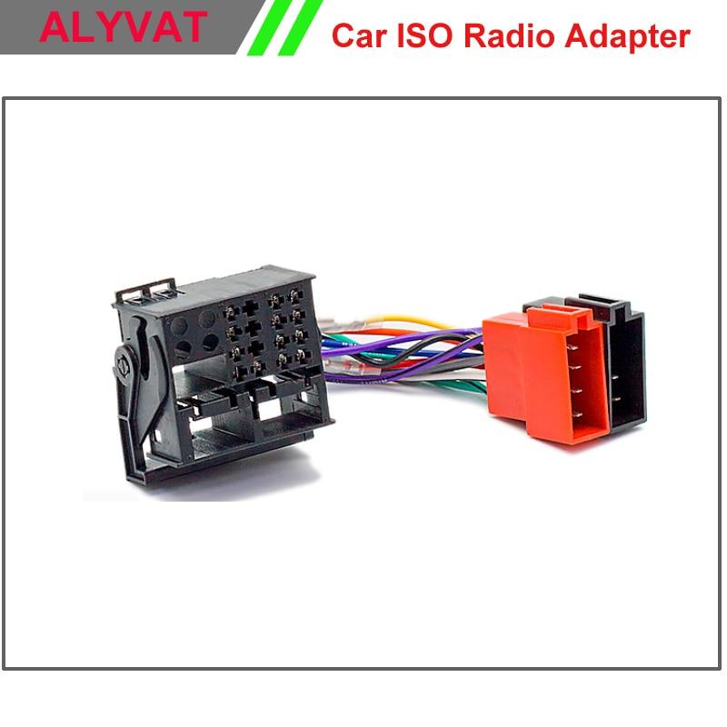 Adaptador de antena radio del coche Adaptador de radio ISO din nuevo en Alt enchufe hembra