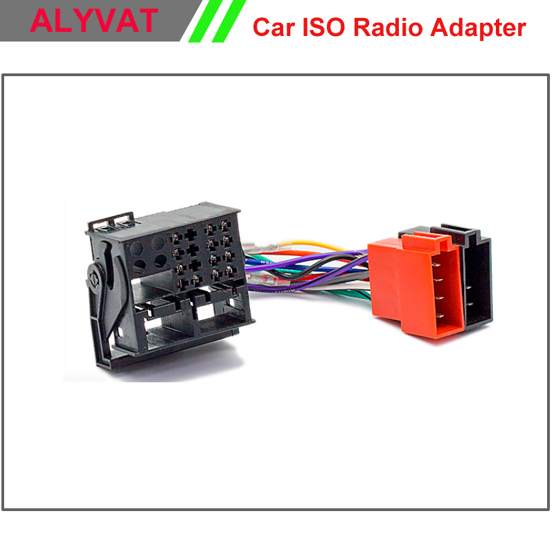 Car ISO F Harness Radio Adapter For Ford Focus Fiesta Fusion C Max Auto Wiring Harness aliexpress com buy car iso f harness radio adapter for ford ford wiring harness adapter at bayanpartner.co