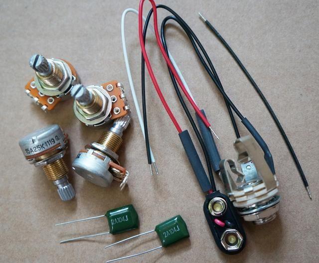 EMG Active Humbucking Pickups Wiring Harness Pots Fit emg wiring harness guitar emg \u2022 indy500 co  at soozxer.org
