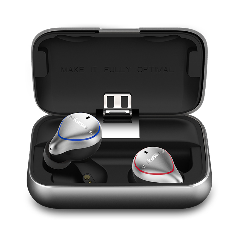 T8 Étanche TWS Sans Fil écouteurs Bluetooth 5.0 Stéréo Intra-auriculaires IPX7 pour HIFI sport 3D Musique écouteurs