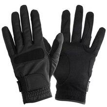 Gants équestres professionnels de haute qualité équipement de gants déquitation pour le divertissement sportif du cavalier