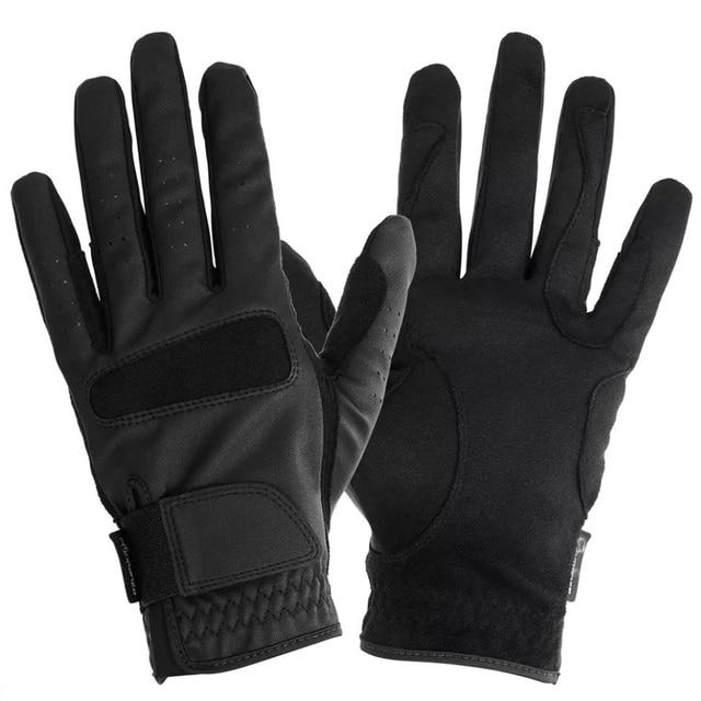a66706ef5db40 Profesjonalne wysokiej jakości rękawice jeździeckie rękawice do jazdy konnej  sprzęt dla konia Rider sportowe rozrywki