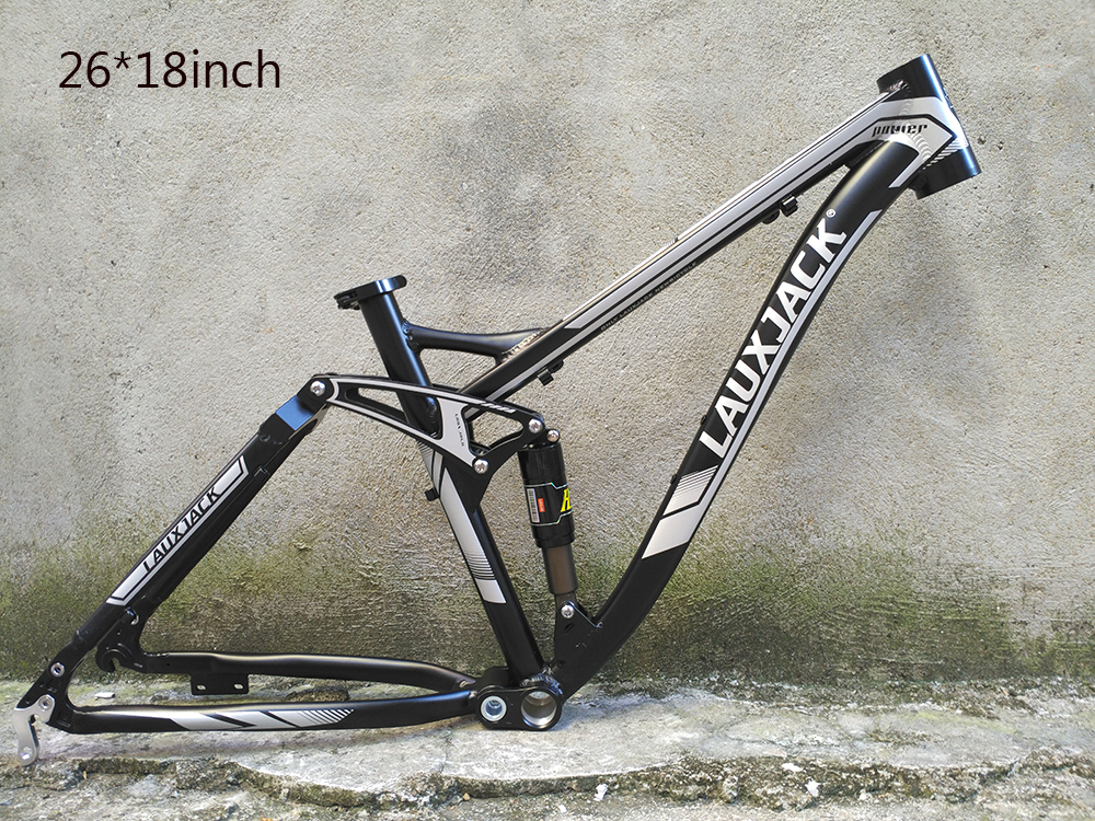 Original LAUXJACK downhill suspension frame soft tail bicycle frame ...