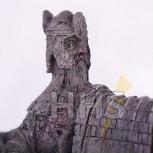 "Image 3 - 11*14 ס""מ שר הטבעות תומכי ספרים פעולה להבין שערים של פסל איור צעצועי Diecast Argonath גונדור מערבי אנימה מתנות"