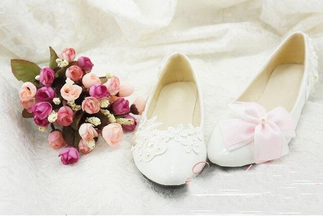 98ba7187fd Flor de luxo Sapatos de Casamento Da Dama de honra Vestido de Noiva Sapato  Sapatos Flats