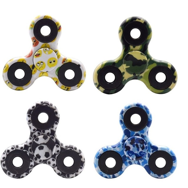 Камуфляж Dom-Spinner Fidget toy пластик EDC сенсорная рука Спиннеры для аутизма и СДВГ дети и взрослые забавные анти стресс игрушки