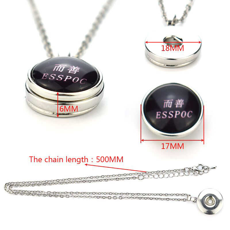 Cute Cartoon 12 Constellation Necklace Boy Girls Birthday Gifts Stainless Steel Chain Necklace Pendant Creative Button Necklace