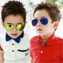 Модные солнцезащитные очки для мальчиков, детские солнцезащитные очки Piolt, фирменный дизайн, очки с защитой от ультрафиолета, Oculos Gafas