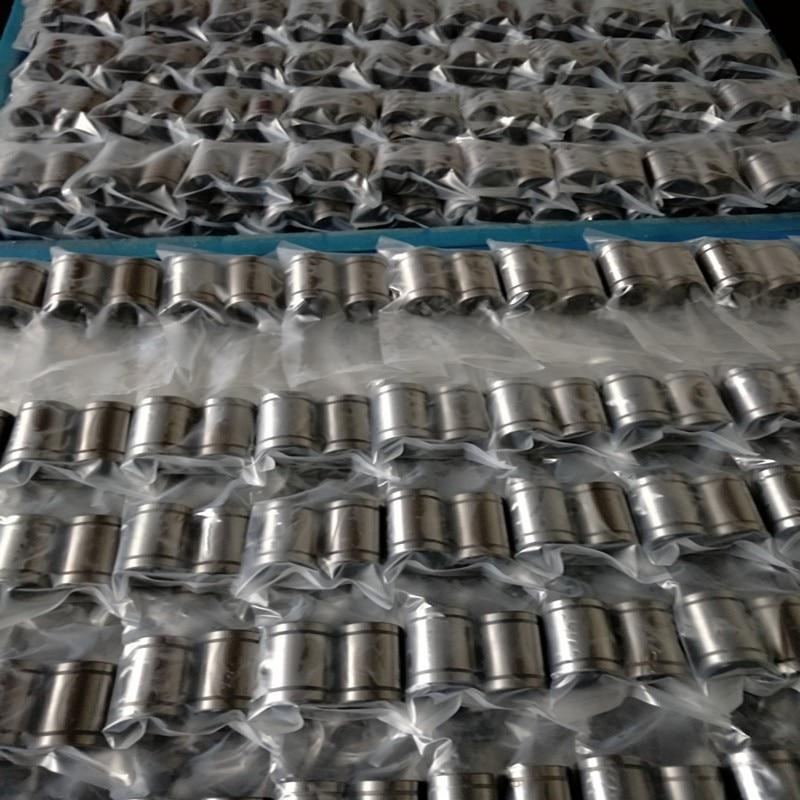 все цены на HLTNC Linear Ball Bearing Bushing LM8UU for 3d printer carbon chromium bearing steel онлайн