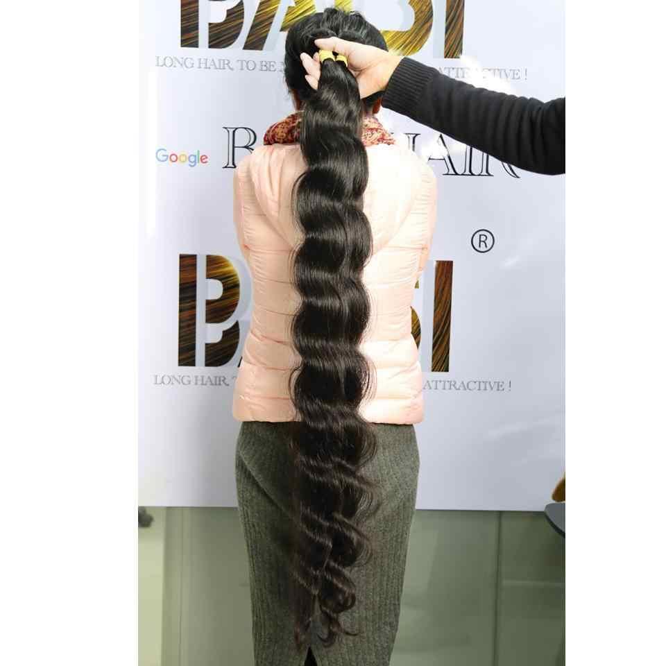 Baisi Cabelo Peruano Onda Do Corpo Do Cabelo Virgem Feixes de Cabelo Longos 28-42 Polegada 100% Cabelo Humano