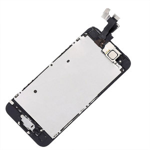 Image 5 - Full Assembly LCD Display for iPhone 5s 6s se 6 Touch Screen Digitizer Replacement with Home Button Front Camera Complete LCD 5C
