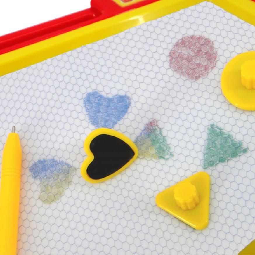 Children\'s cartoon color graffiti Board magnetic Kid Color ...