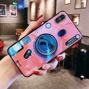 Image 3 - สำหรับ Huawei Y6 Y7 PRIME 2018 Blue Ray กล้องขาตั้งซิลิโคนสำหรับ Huawei Y5 Y6 Y7 2017 y9 2018 Y6 Pro 2019 Coque