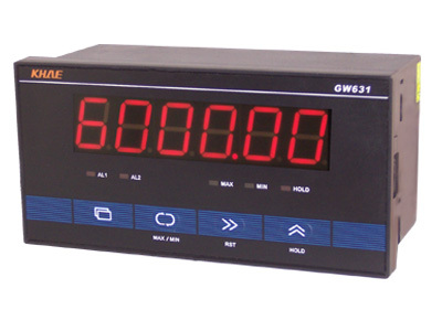 GW631 Pulse Meter / Counter / Tachometer / Wire Speed Meter / Frequency Meter, /RS232 Communication, MODBUS Protocol