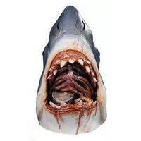 Shark Jaws Mask Bloody Halloween Latex Full Masks Horror Animal Overhead