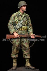 1/16 США бронированная мотострелка 2AD Нормандия с 2 различными головками набор из смолы солдат GK военная тема без покрытия без цвета