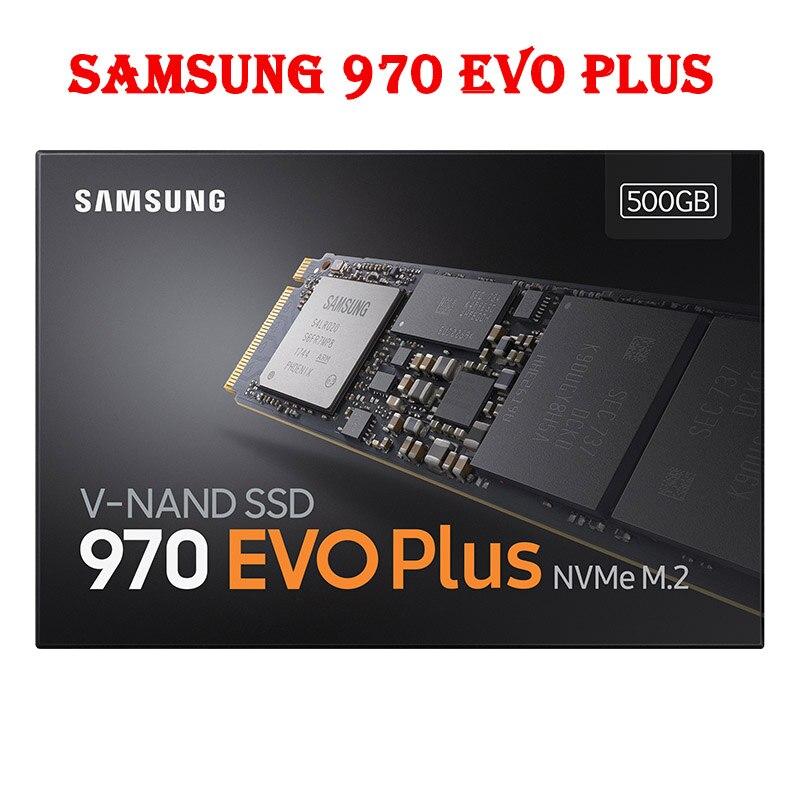 M2 SSD SAMSUNG M.2 SSD M2 1 to 500G 250G HD NVMe disque dur SSD 1 to disque dur HDD 970 EVO Plus PCIe à semi-conducteurs pour ordinateur portable