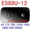 Открынный Huawei E589 3 г 4 г lte wi-fi беспроводная точка доступа маршрутизатора e589u-12 4 г мобильного WIFI маршрутизатор lte 4 г модем ключ pk e5776 e5372