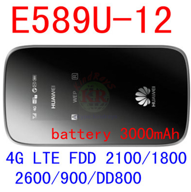 все цены на  unlocked Huawei E589 3G 4G lte wifi wireless hotspot Router e589u-12 4g mobile WIFI router lte 4g Modem dongle pk e5776 e5372  онлайн