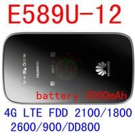 unlocked Huawei E589 3G 4G lte wifi wireless hotspot Router e589u-12 4g mobile WIFI router lte 4g Modem dongle pk e5776 e5372