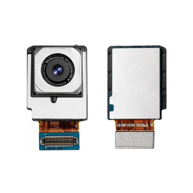 عالية الجودة استبدال الكاميرا الخلفية لسامسونج غالاكسي S7 حافة G935F خلفي كبير الكاميرا الرئيسية وحدات فليكس كابل ل سامسونج s7edge