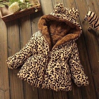冬の子供のコートの毛皮の襟のコートのジャケット上着パーカー幼児服カシミヤウォームジャケット