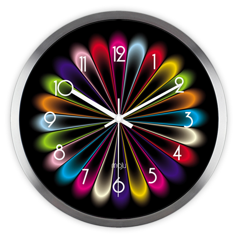Electronic Large Wall Clock Home Decor Klokken De Parede Relogio Parede  Vintage Kitchen Decorative Kitchen Wall