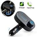 T9 Actualización T9S Car Mp3 Reproductor Inalámbrico Transmisor FM Bluetooth modulador a2dp kit manos libres de coche cargador usb para iphone samsung