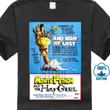 76f752ef6 Monty Python & The Holy Grail 80'S Vintage Movie Poster Men'S T Shirt S To  4Xl