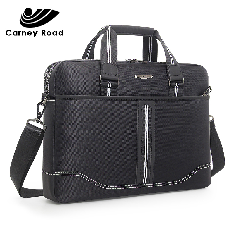 Business Oxford Men Briefcase 15.6 Inch Laptop Handbags Men's Office Bags Multifunction Messenger BagComputer Work Bag