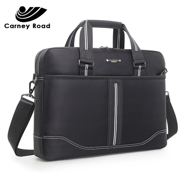 Business Oxford Men Briefcase 15.6 inch Laptop Handbags Mens Office Bags Multifunction Messenger BagComputer Work Bag