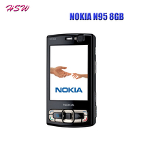 Original NOKIA N95 8GB Mobile Phone 3G 5MP Wifi GPS 2 8 Screen GSM Unlocked Smartphone